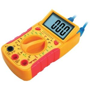 Pltm35 Digital Lcd Multimeter Measures Dc Volt Ac Volt Dc Current And Diode