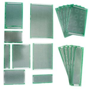 10 20 50pcs Pcb Board Electronic Panel Double Side Printed Circuit Prototyping