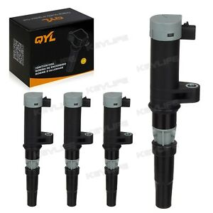 Qyl Ignition Coils Set Of 4 For Renault Fits Nissan Aprio Platina Uf 653 5c1620