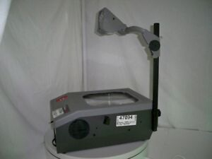 Buhl 2900 Overhead Projector W bulb top Glass Cover Is Missing See Pictures