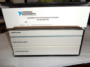 National Instruments Labview Development System Complete Sun Hp ux 5 0