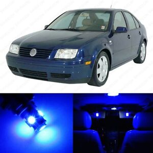 11 X Blue Led Interior Light Package For 1999 2004 Vw Jetta Mk4 Pry Tool