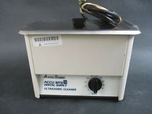 Accusonic Dental Ultrasonic Cleaner Bath For Instrument Cleaning