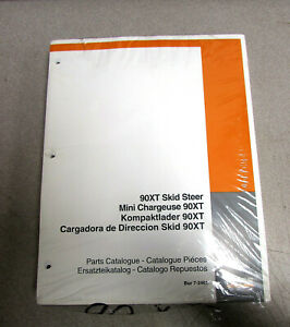 Case 90xt Skid Steer Parts Catalog Manual Bur 7 2461 1998