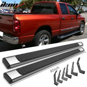 Fits 02 08 Dodge Ram Crew Cab 82inch Ram Oe Style Side Step Bars Running Boards