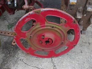 Farmall C Sc Tractor Factory Ih Rear Cast Center Rear Hub Mounting Wedge