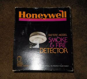 Vintage 1978 Honeywell Smoke Fire Detector Alarm Cd200a Made In Usa New
