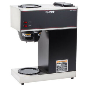 Bunn 12 Cup Pourover Coffee Maker Brewer Machine 2 Warmers 120v Commercial