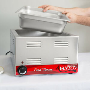 Commercial Electric Warmer Countertop Restaurant Cooking Food Truck Bar Steam