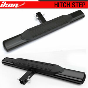 Universal Hitch Step Bumper Guard For Vehicles With 2inch Receiver 5inch Oval