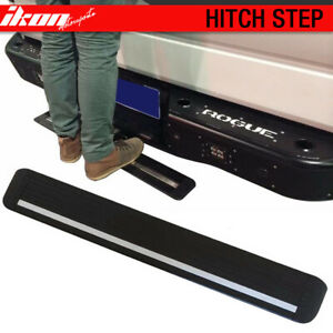 Universal Hitch Step Bumper Guard For Vehicles W 2inch Receiver 35 Unpainted