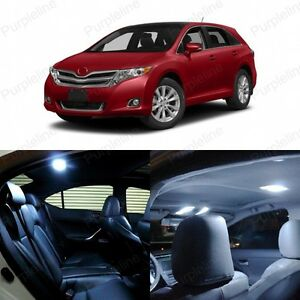 14 X White Led Interior Lights Package For 2009 2016 Toyota Venza Pry Tool