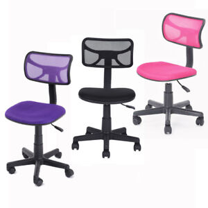 Adjustable Mid back Mesh Office Computer Task Chair Student Kids Swivel Chairs