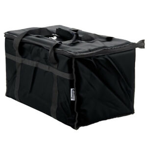 Set Of 4 Insulated Catering Food Delivery Full Pan Carrier Hot Cold Cooler Bags