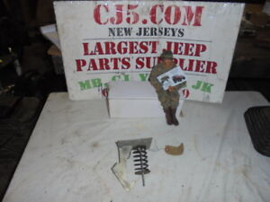 Jeep Willys Nos Truck Wagon Hood Catch W Spring 676449