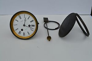 Fine Antique Large French Bronze Clock Movement By Charles Desprez Bristol