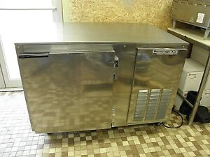 Beverage Air Wtr46a 46 Worktop Meat Deli Sandwich Storage Ss Refrigerator