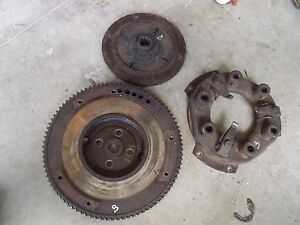 Allis Chalmers B Ib Tractor Ac Engine Flywheel W Starter Ring Gear