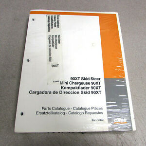 Case 90xt Skid Steer Parts Catalog Manual 7 2462 1999