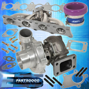 1 8t Audi Stainless Steel Exhaust Manifold Turbo 63ar Velocity Stack Purple