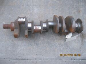 Crankshaft 1959 1971 Pontiac 326 350 389 400 Ci Engine 1959 Gmc 336 9 Eng
