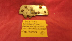 1963 1975 Studebaker Avanti Genuine Vintage Trunk Latch Assembly Free Shipping