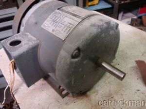 Rockwell Delta Made By Baldor 3 4 Hp 1725 Rpm 3 Ph 56 Fr Tefc Motor