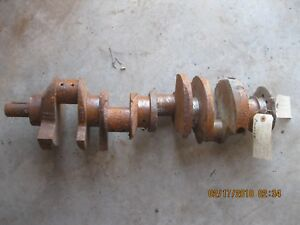 Crankshaft 1959 1971 Pontiac 326 350 389 400 Engine 1959 Gmc 336 9 Engine