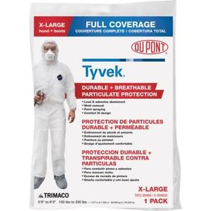 12 Pk Dupont Tyvek Extra large Heavy Duty Full Coverage Painter s Coveralls