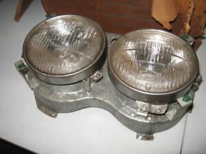 Nos Mopar 1958 Plymouth Belvedere Savoy Fury Right Headlight Assembly