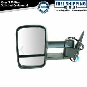 Side View Mirror Power Heated Towing Signal Driver Left Lh For Chevy Gmc