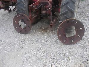 Case 600 Tractor Original Case 145lb Rear Wheel Weights Weight