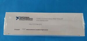 National Instruments Third octave Analysis Toolkit For Windows Year 1997