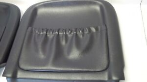 04 05 06 Pontiac Gto Black Seat Back With Clips 2004 2005 2006 Gm Used