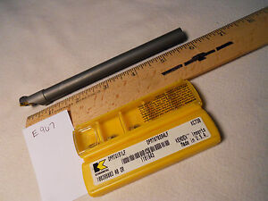 1 New 12 Mm Garant Carbide Boring Bar W 10 Kennametal Dpmt 21 51 Inserts E967