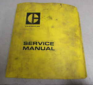 Caterpillar Cat No 12 No 14 Motor Graders Service Repair Manual 12k 13k 33k