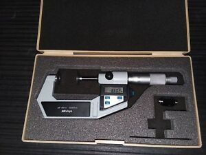 Mitutoyo 25 50mm Disc Micrometer 323 512 001mm Graduations 118