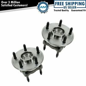 Wheel Bearing Hub Assembly Rear Pair For Jeep Commander Grand Cherokee