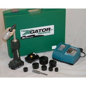 Greenlee Ls50l11b Battery powered Knockout Punch Driver Tool Kit