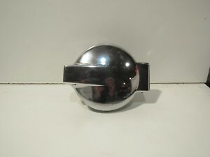 Large Chrome Flip Top Gas Cap And Base For Custom Car Or Boat