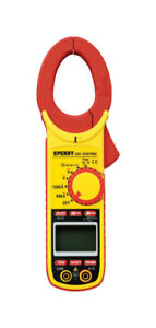 Sperry Clamp on Meter 27 Range Yellow And Black Digital