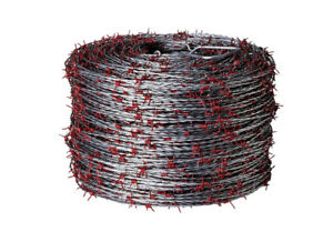 Red Brand 1320 Ft L 15 Ga 2 point Galvanized Steel Barbed Wire