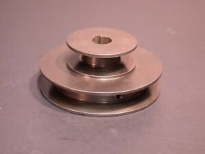 Original South Bend Metal Lathe 2 Step Motor Pulley 5 8 Keyed Bore