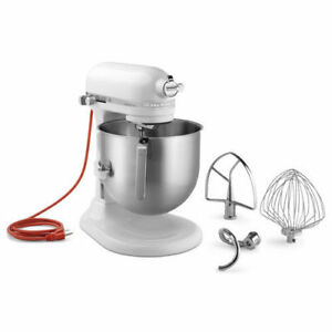 New Commercial Kitchen Aid 8 Quart Bowl Lift Stand Mixer Electric Heavy Duty Nsf