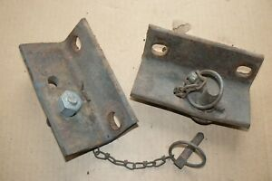 Ford Tractor Ferguson 3pt Hitch Sway Brackets With Pins