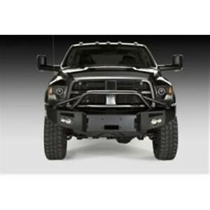 Fab Fours Dr16 c4052 1 Winch Front Bumper W bar Holes For 10 Dodge 2500 3500