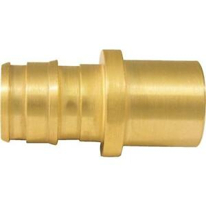 50 pex Crimp Pipe Brass Insert Type A 1 2 X 1 2 Mswt Adapter Epxms1210pk