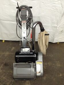Clarke Ez 8 Drum Floor Sander Wood Refinishing Deck Sanding Floorboards