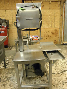 Hobart 6801 142 Meat Butcher Pork Chicken Commercial Band Saw Single Phase