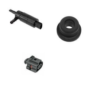 Porsche 911 1999 2005 Headlight Washer Pump Grommet Connector Housing Kit